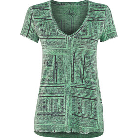 Red Chili Fey t-shirt Dames, emerald